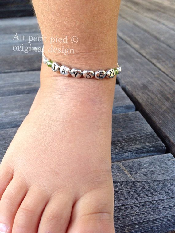 Baby Boy Ankle Bracelets Handmade Hey I Found This Really Awesome Etsy Listing At Https Www