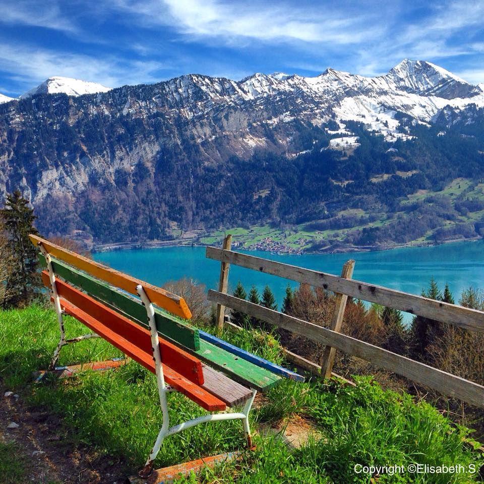Have a great week everybody! #Interlaken #LakeThun #view