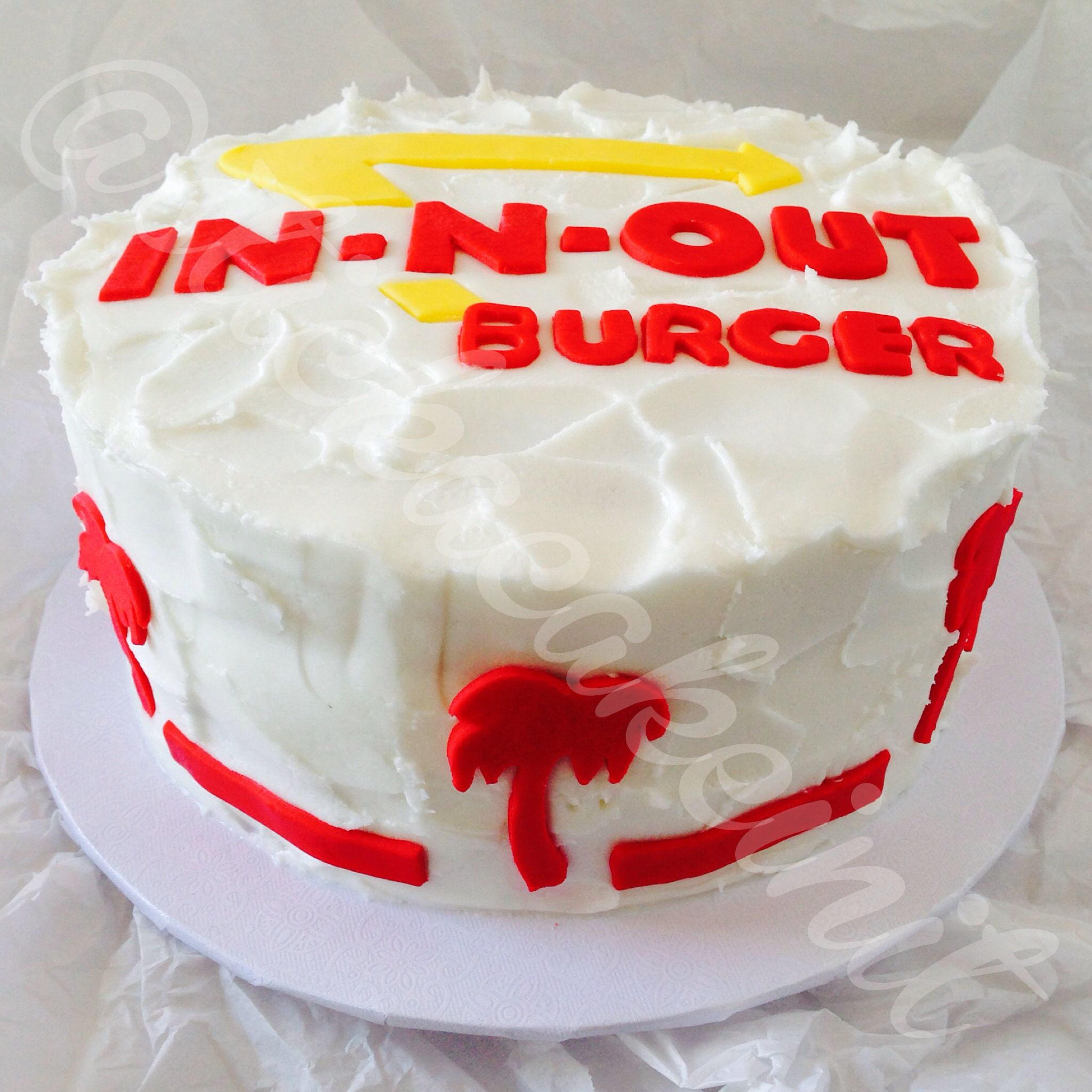 In-N-Out Birthday Cake by: Stick a Cake In It | Stick a Cake In It ...