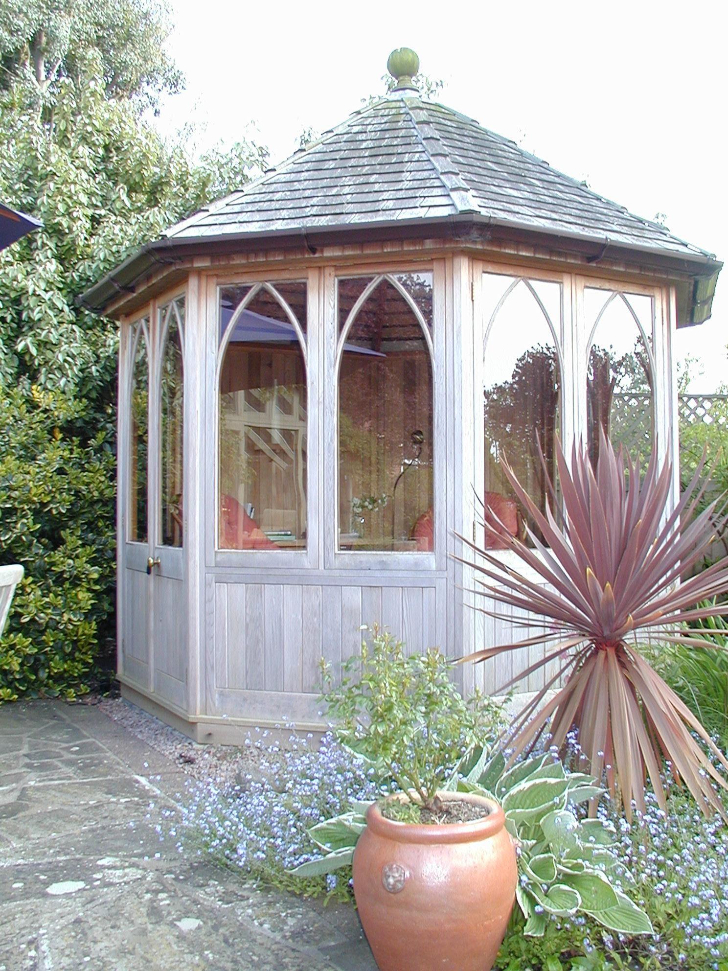 hexagonal summer house бесідка pinterest house garden ideas