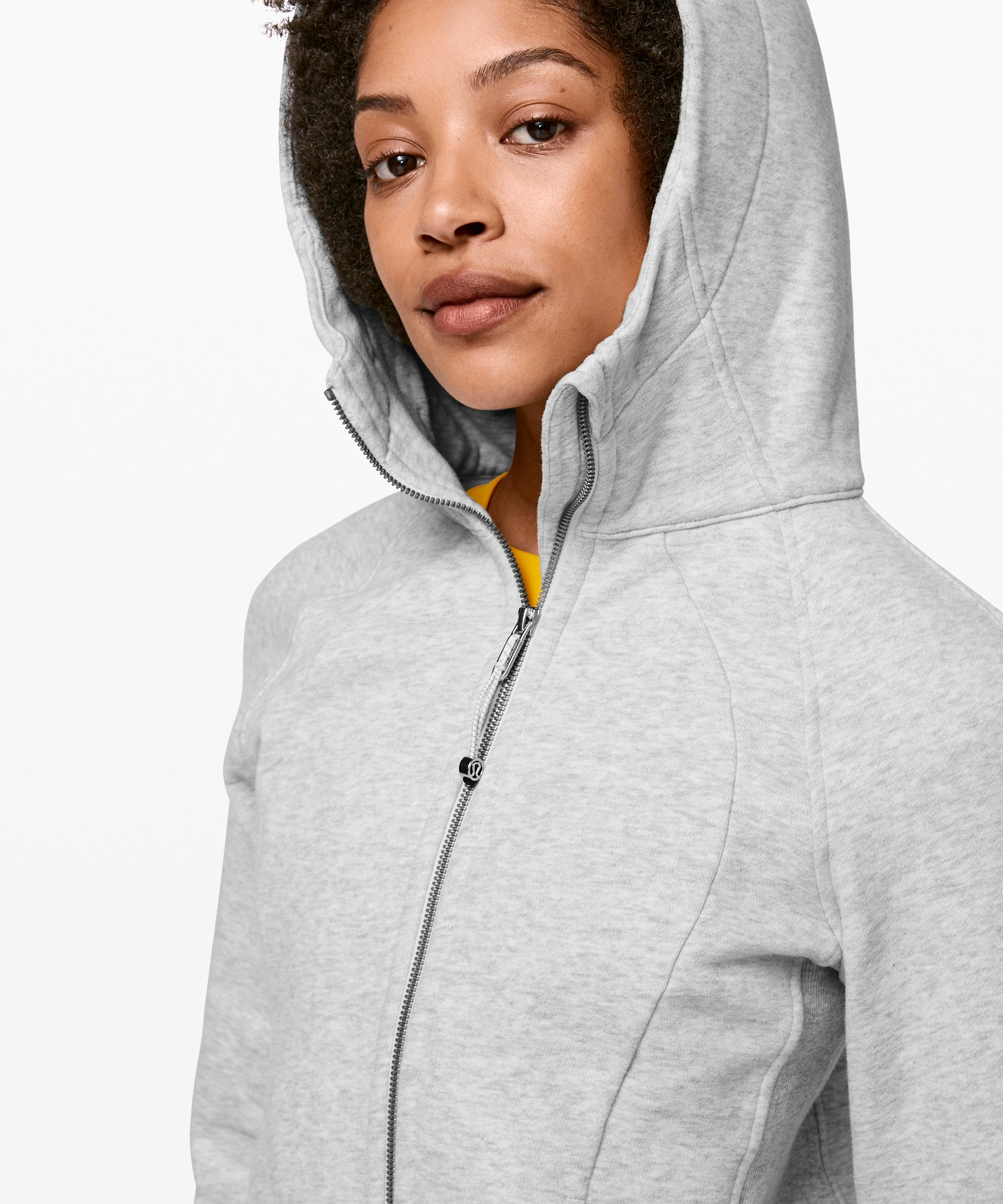 Lululemon Women S Scuba Hoodie Light Cotton Fleece Heathered Core Ultra Light Grey Size 8 Hoodies Cotton Fleece Cotton Lights
