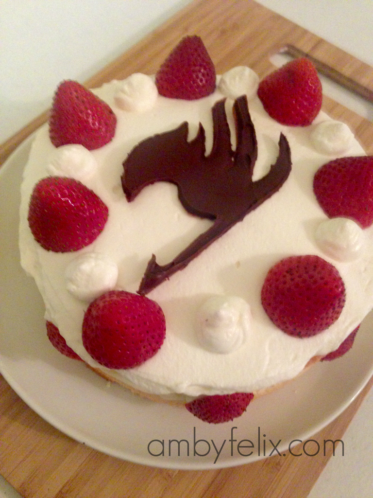 Erza Strawberry Cake Recipe