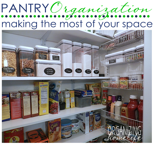 How to Maximize the Space in Your Pantry | Haushalt | Pinterest ...