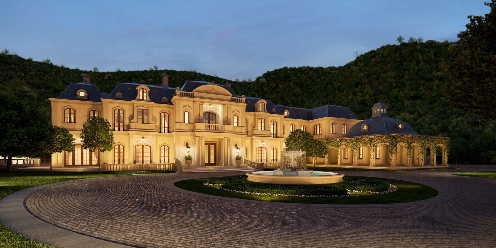 Mark wahlberg s 30 000 square foot mega mansion in beverly for Movie star homes beverly hills