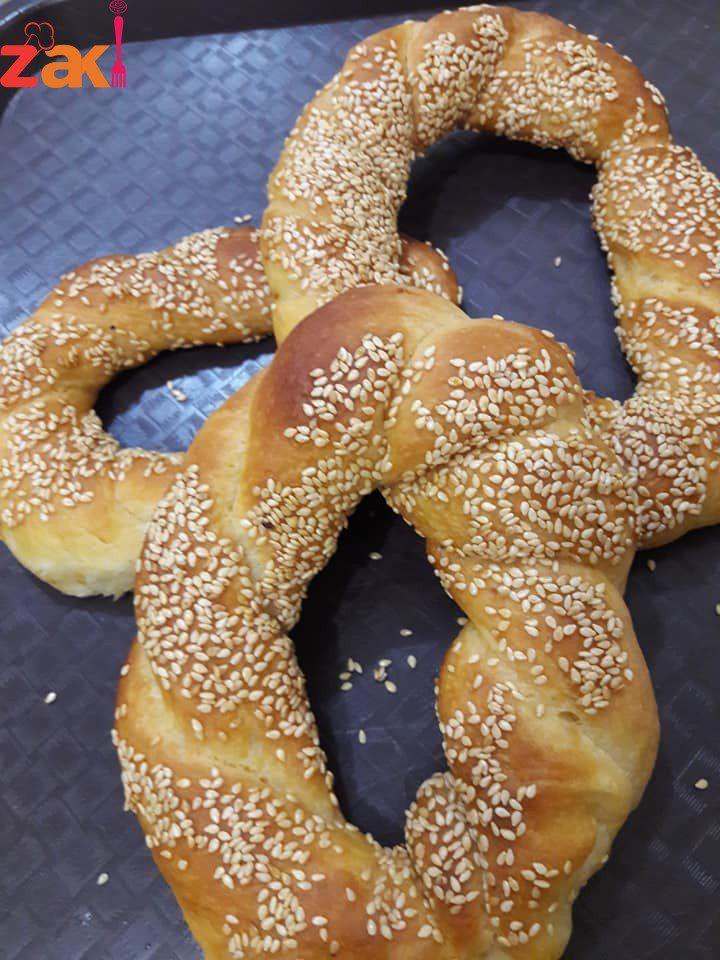 طريقة عمل خبز السميت التركي بأنجح طريقة على الاطلاق ومن أول مرة زاكي Sweet Pastries Best Dishes Bread