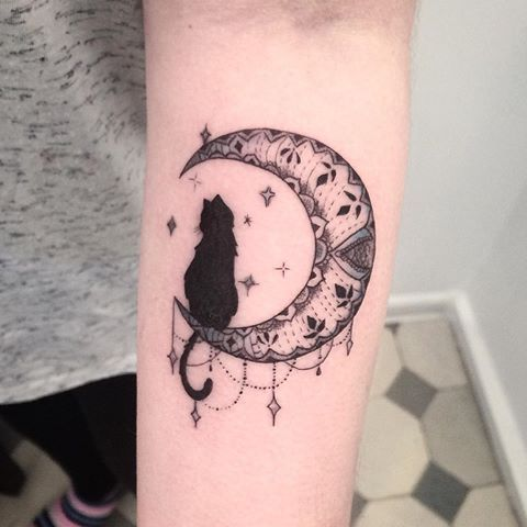 Afbeeldingsresultaat Voor Boho Cat Tattoo Tattoos Inspirational Tattoos Small Tattoos