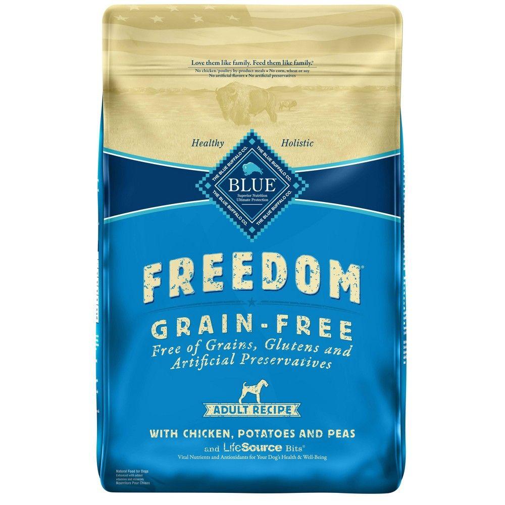 Blue Buffalo Freedom Adult Chicken Dry Dog Food 24lb Dry Dog