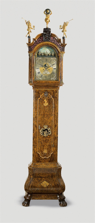 Amsterdam Paulus Bramer En Soon Um 1750 Seltene Amsterdamer Standuhr Auktion 1096 Kunstgewerbe Lot 1350 Standuhren Antike Uhren Standuhr Antik
