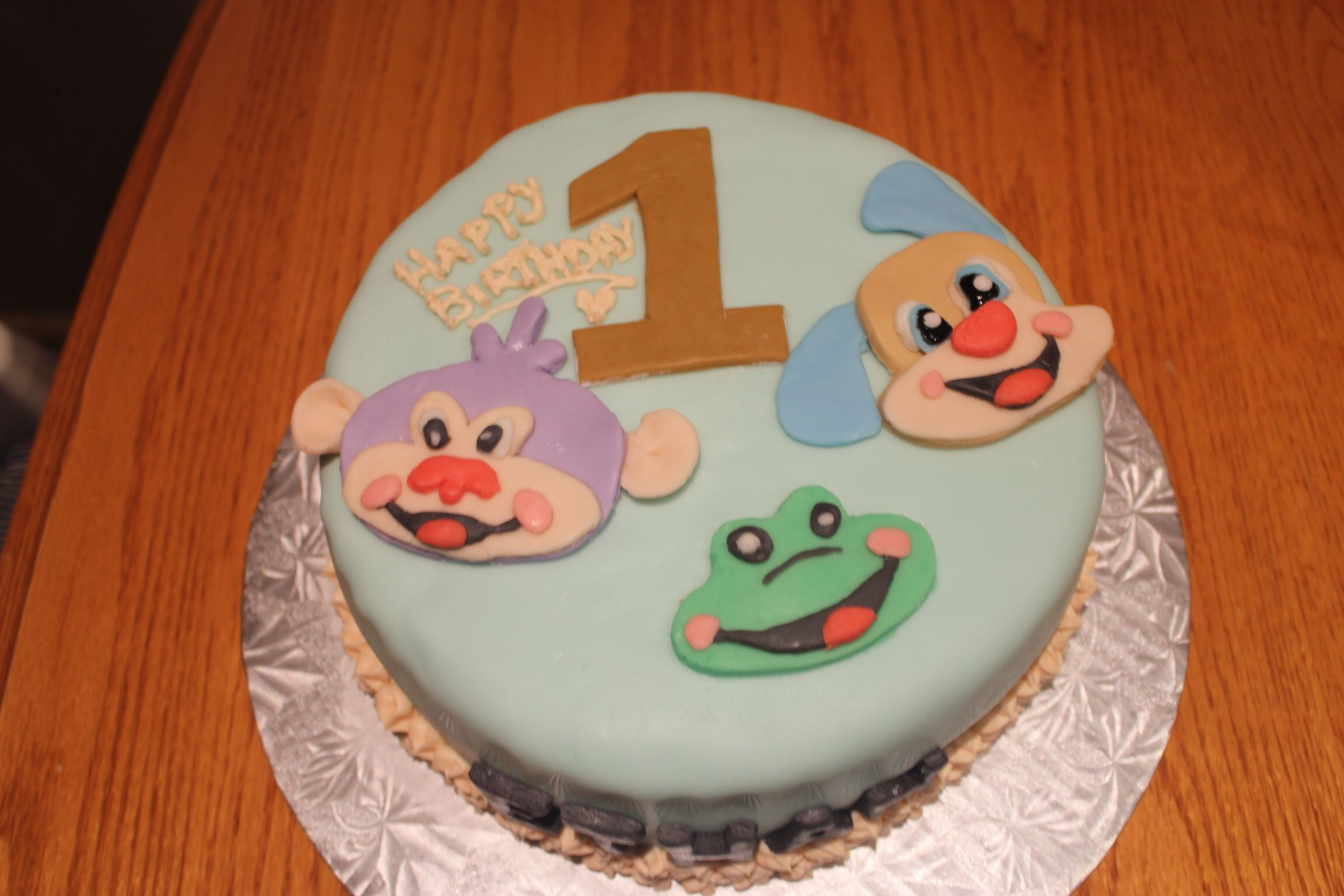 Wondrous Fisher Price Laugh And Learn Birthday Cake I Made This For My Personalised Birthday Cards Beptaeletsinfo