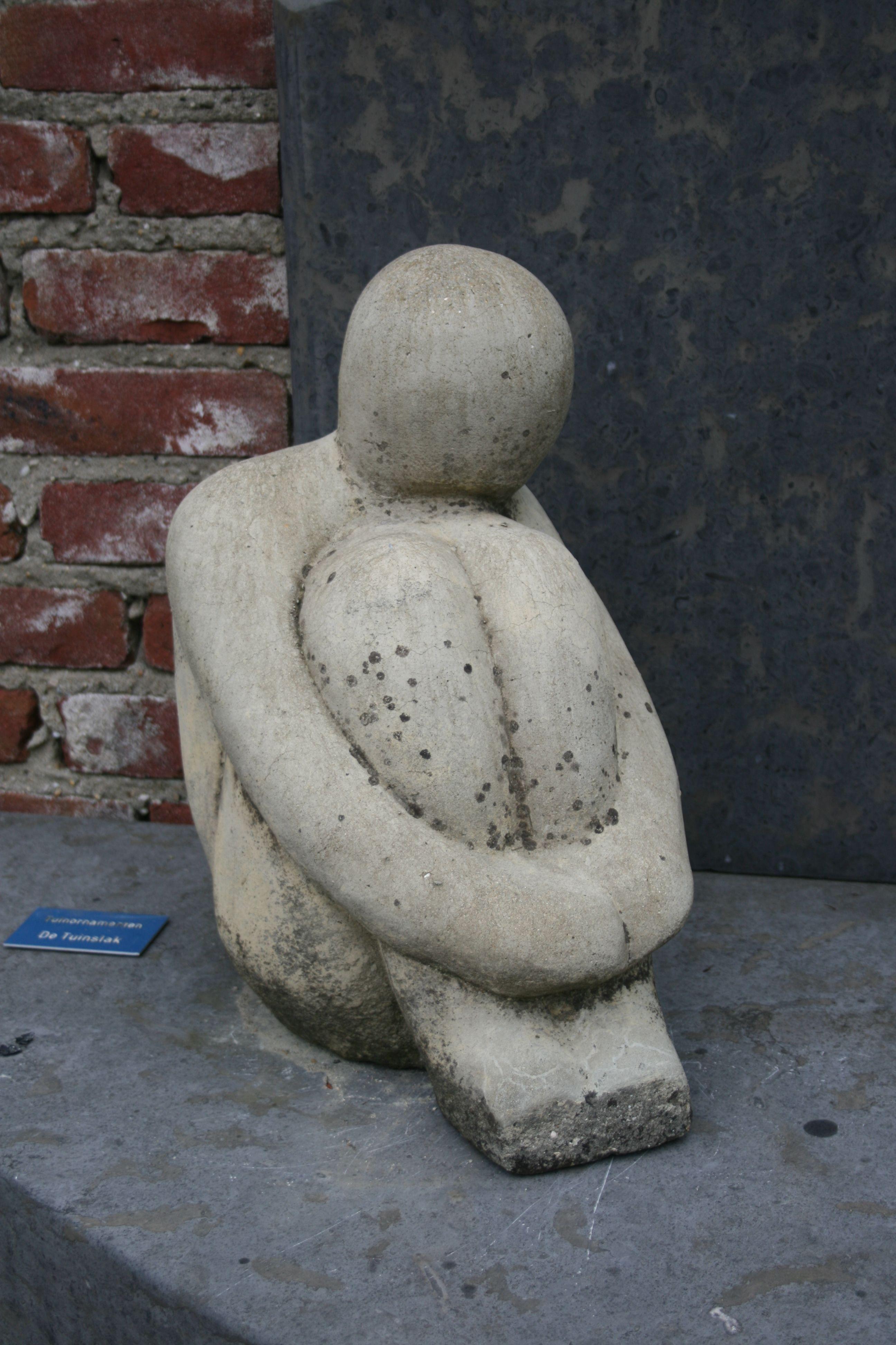 Betonskulptur Gartenreise Holland Appeltern Ceramic Sculpture Figurative Pottery Sculpture Sculpture Art