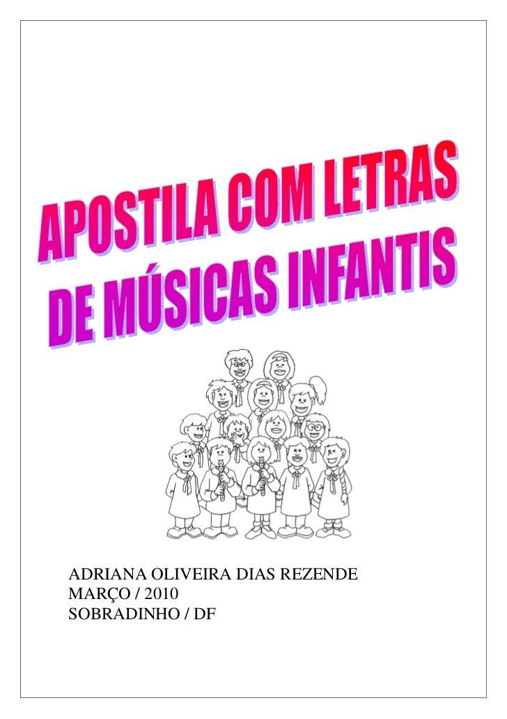 Suficiente A musica na educacao infantil 02 | Escola Ed. Infantil | Pinterest  RL08