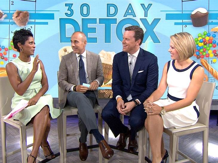 Jill Martin sticks to '30-Day Detox' challenge