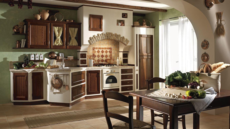Cucine in muratura e cucine in legno massello – Giaconi e Raponi ...