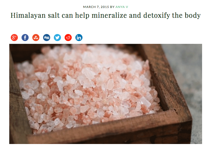Himalayan salt and how it helps the body http://livingtraditionally.com/himalayan-salt-can-help-mineralize-detoxify-body/