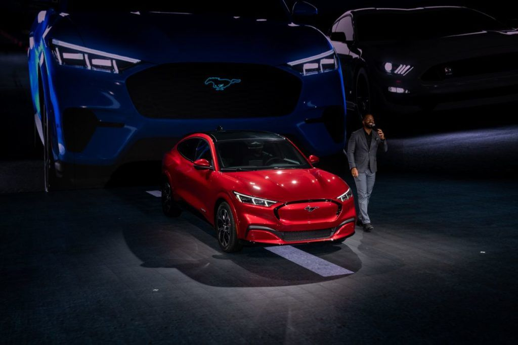 2021 Ford Mach E Pre Orders Started Price Revealed In 2020 Ford Falcon Mustang New Suv