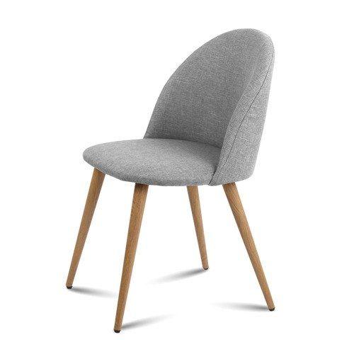 Light Grey Modern Dining Chair Dilate Office Modern Dining