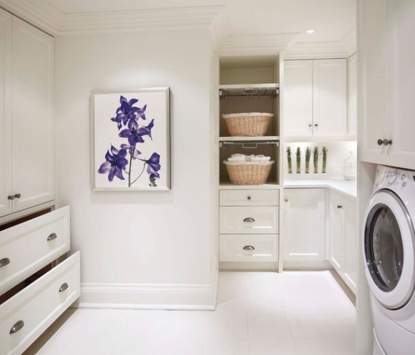 Schränke Für Wirtschaftsraum waschküche einrichten 33 ideen für einen modernen wäscheraum