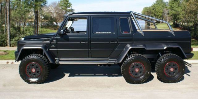 P Who Needs Four Wheels When You Can Have Six This G Wagon 6x6 Is