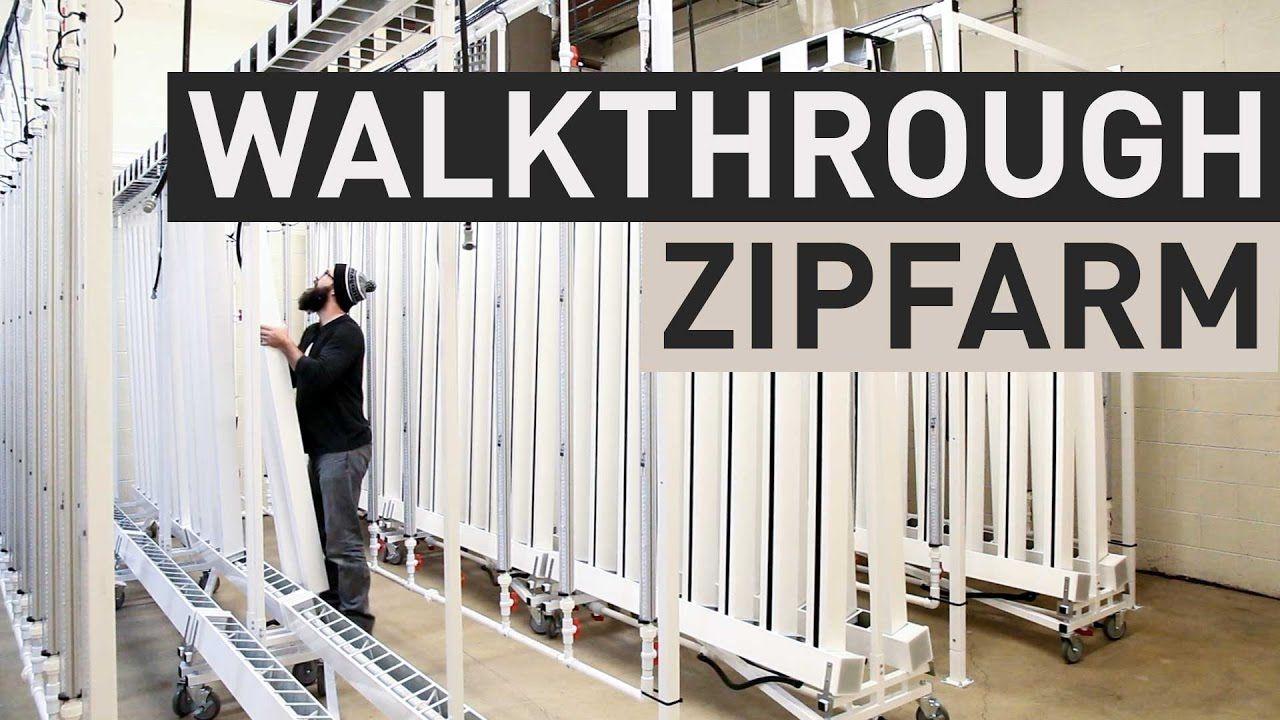 zipfarm walkthrough off the root farm aquaponics
