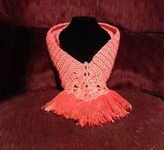 Simple yet elegant dickie - free crochet pattern by Sweet Southern Stitches.