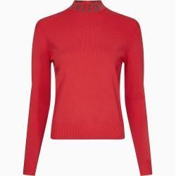Photo of Calvin Klein Pullover mit Logo Kragen M Calvin Klein