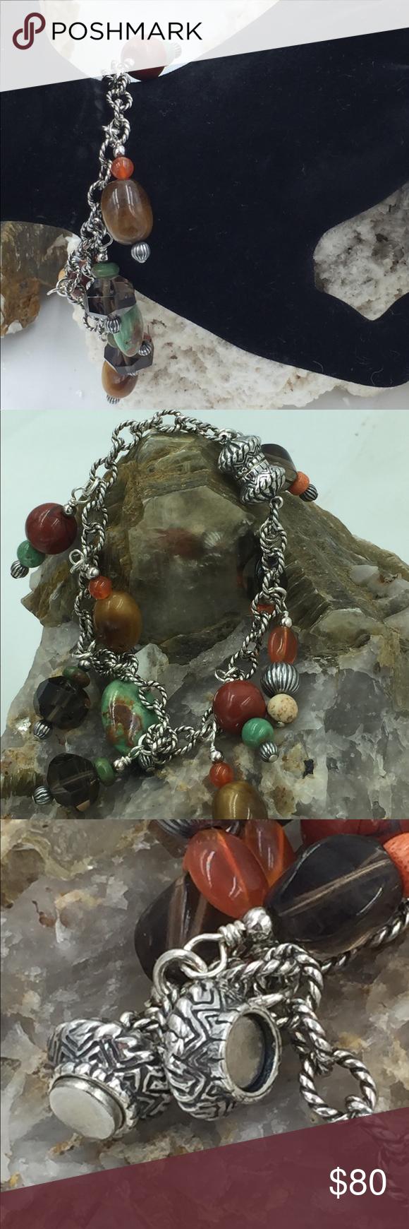 Designer ster dangle beaded magnetic bracelet my posh closet