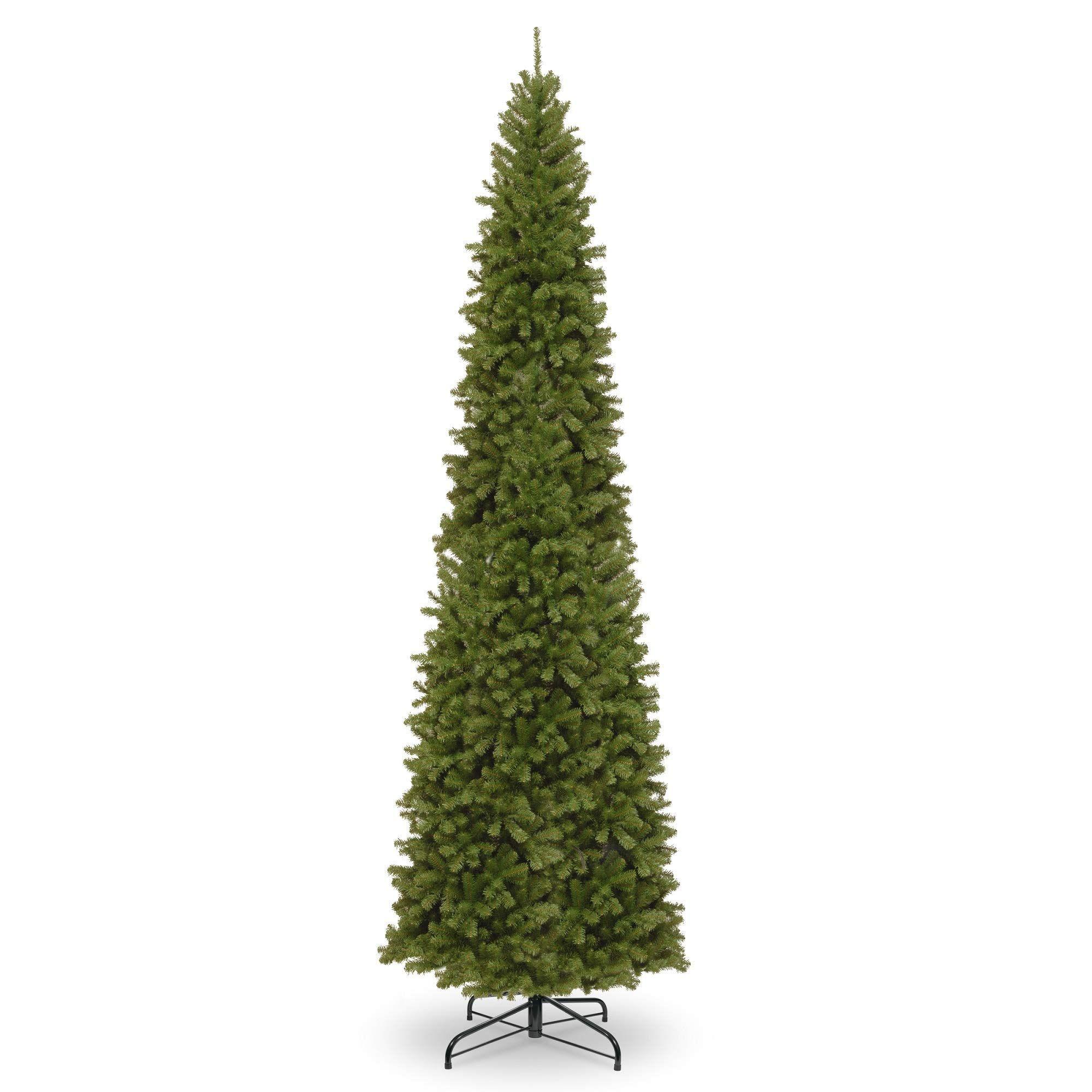 16' North Valley Spruce Pencil Slim Artificial Christmas