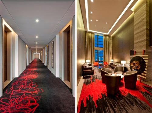 Swisstouches hotel xi 39 an interiors hotel corridor and for Design hotel xian