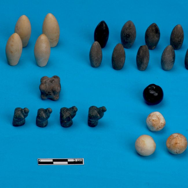 Researchers working in Basur Hoyuk, a 5,000-year-old burial mound near Siirt in southeast Turkey, have uncovered 49 small stones they believe could represent the earliest gaming tokens ever found.