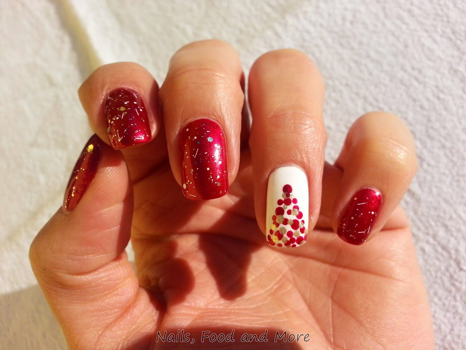 Nails, Food and More: Frohe Weihnachten | Nagel Design | Pinterest ...
