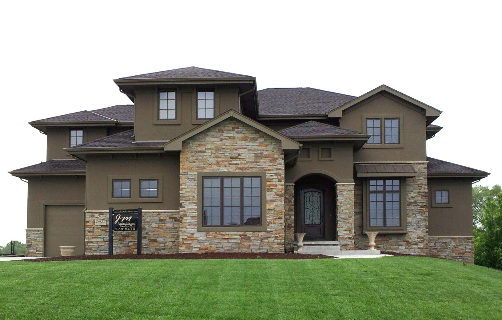 Custom Home Designed By Advanced House Plans