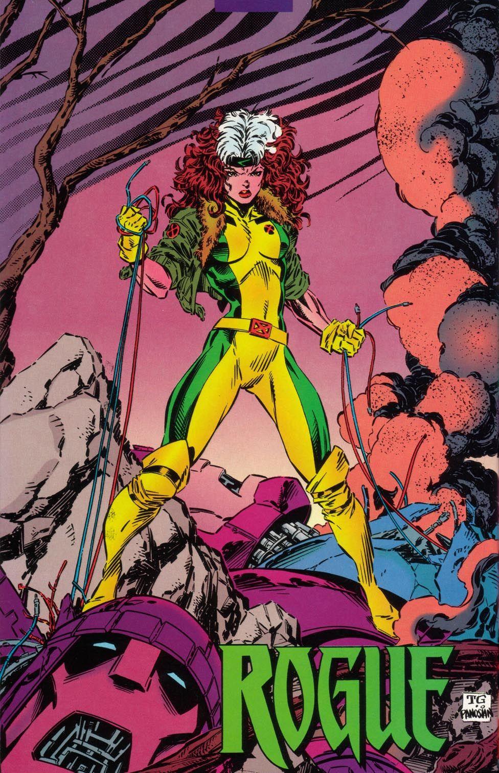 X Men Unlimited Vol 1 6 Pinup 003 Jpg Marvel Rogue Comics Rogues