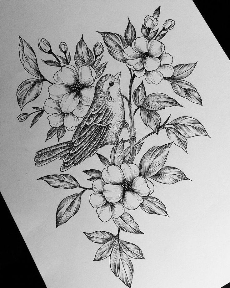 Картинки птиц татуировки