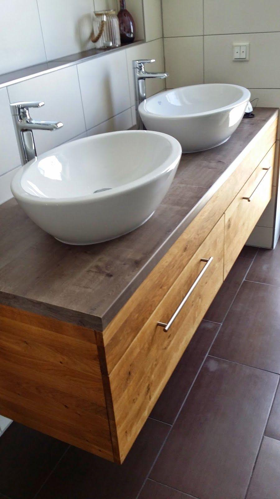 Umzug Ins Hauptbad Pro Haus Waschtisch Selber Bauen