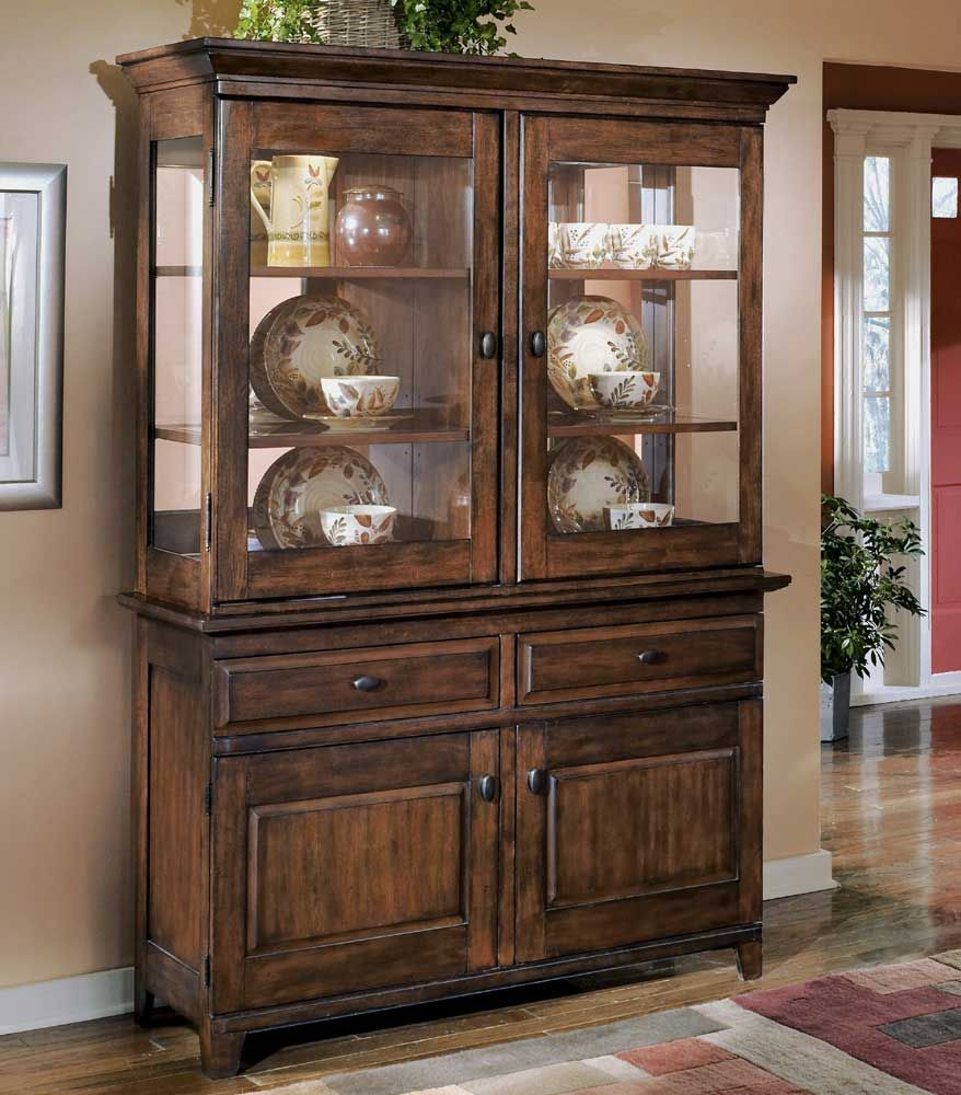 Larchmont China Cabinet And Buffet By Signature Design By
