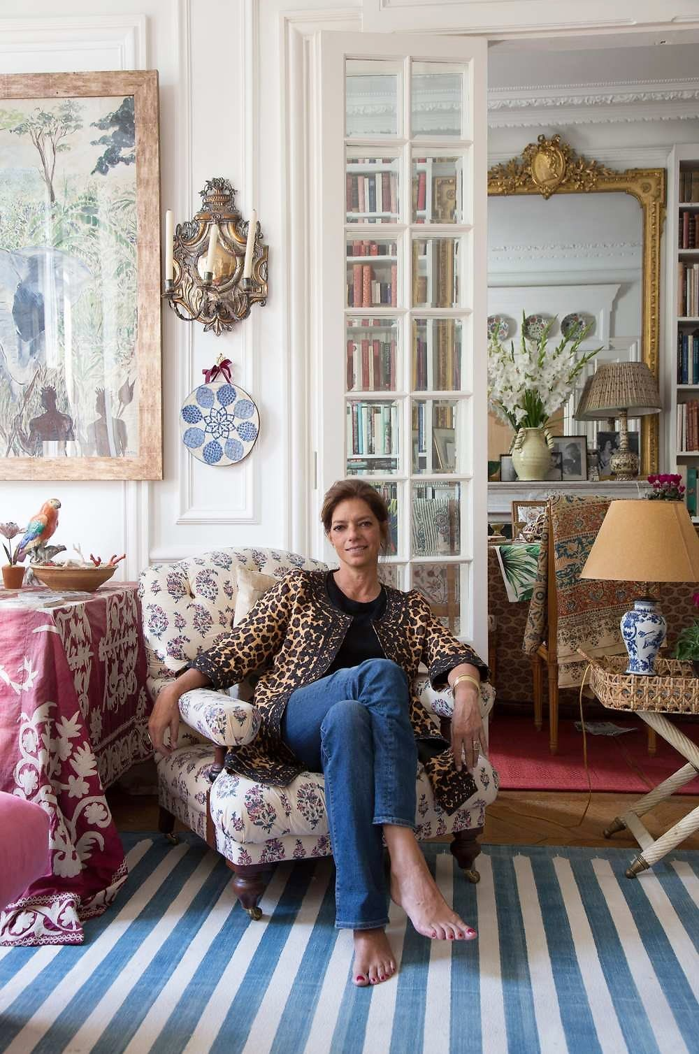 Carolina Irving S Paris Apartment Take 2 Katie Considers
