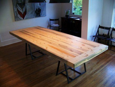 Beetle Kill Pine Dining Table Top
