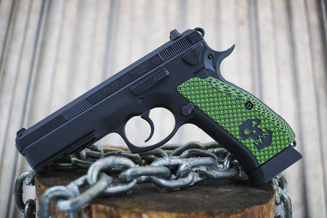💀 WAAAGH! 💀 Check out these custom engraved Ork Skull G10 grips