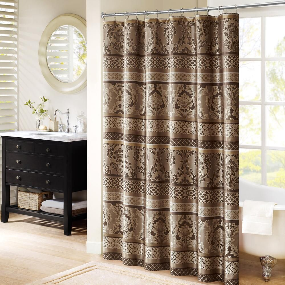 Venetian Jacquard Shower Curtain Curtains Shower Curtain Sets