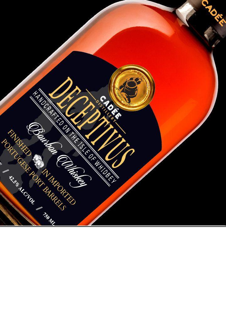 Deceptivus bourbon whiskey abv 425 85 proof youve