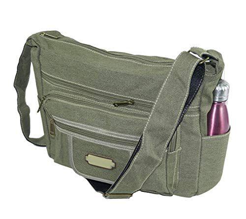 978c1efbaaf3 Storite College Cross body One side Shoulder Sling Messenger Bag for Men  and Women – Olive Green  handbag  slingbag  unisexbag