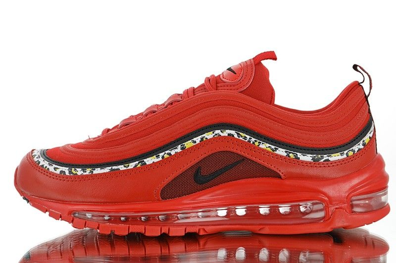 Discount Nike Air Max 97 CR7 University RedBlack White