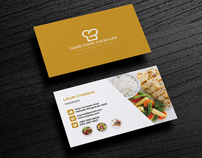 Check Out New Work On My Behance Portfolio Restaurant Business Card Http Be Net Galle Food Business Card Restaurant Business Cards Restaurant Card Design