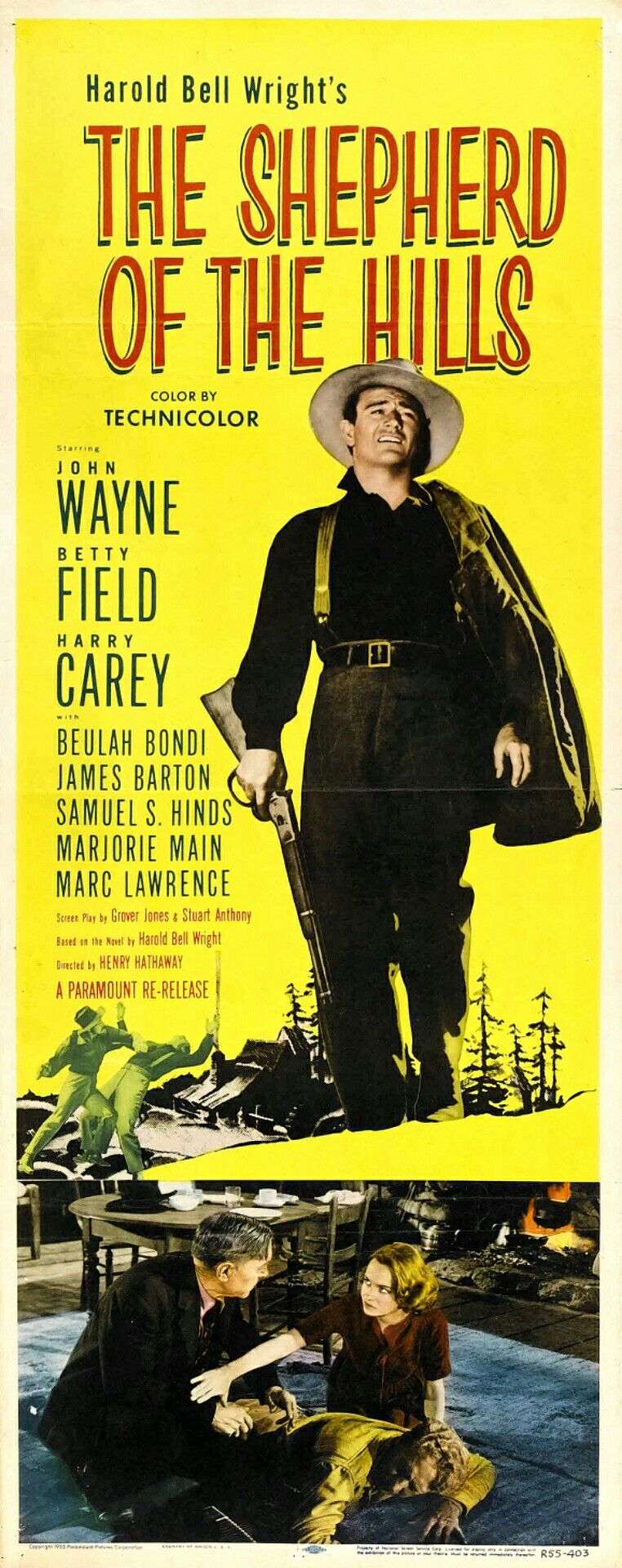 the shepherd of the hills is a 1941 american drama film