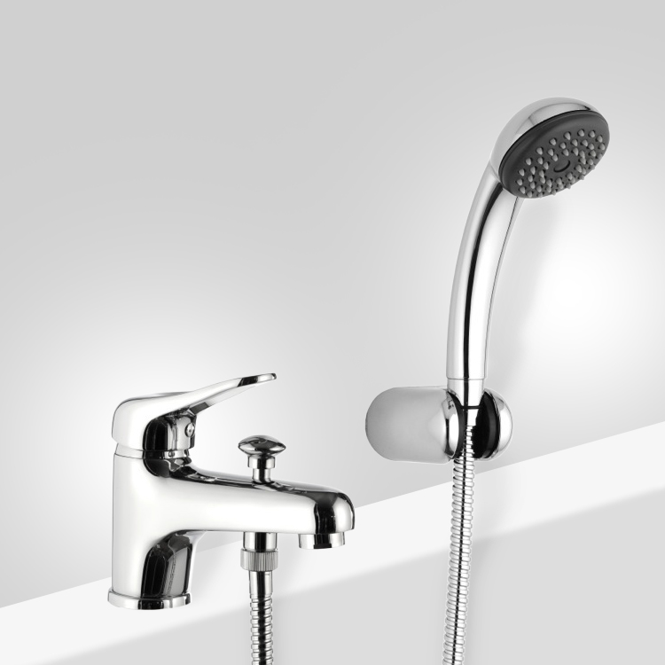 Chrome Bathtub Faucet With Personal Shower In 2020 With Images