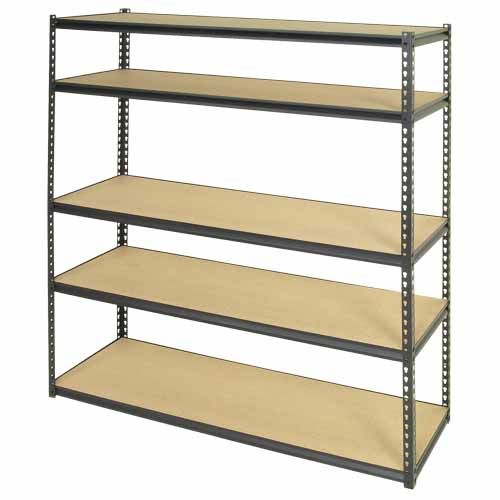 Muscle Rack Shelving Unit H 1800mm W 1500mm D 450mm Shelving Unit Shelving Particle Board