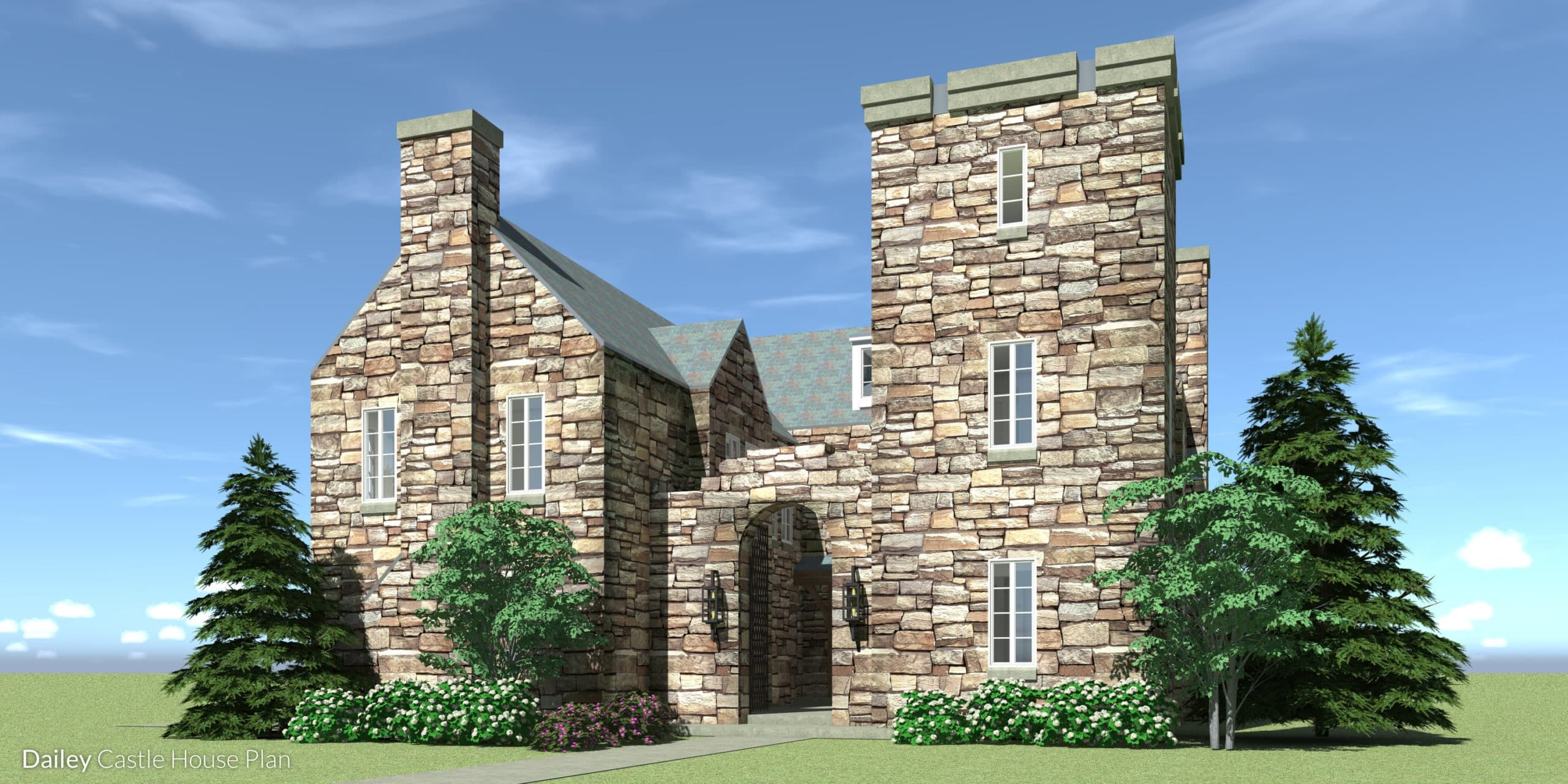 pact Luxury Castle Home Tyree House Plans