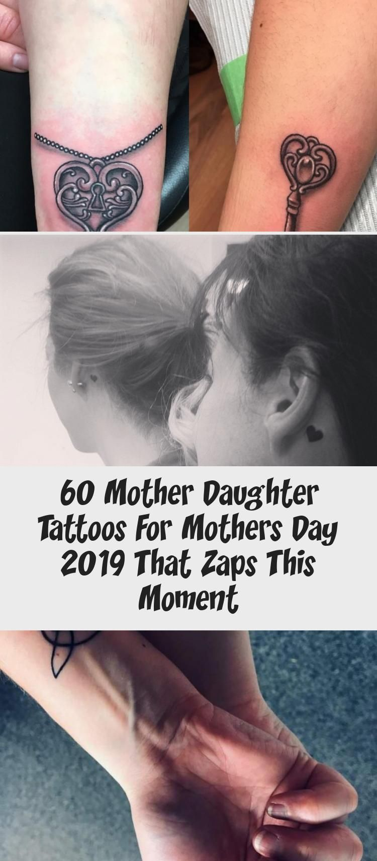 Photo of 60 Mother Daughter Tattoos For Mothers Day 2019 That Zaps This Moment – Tattoos …