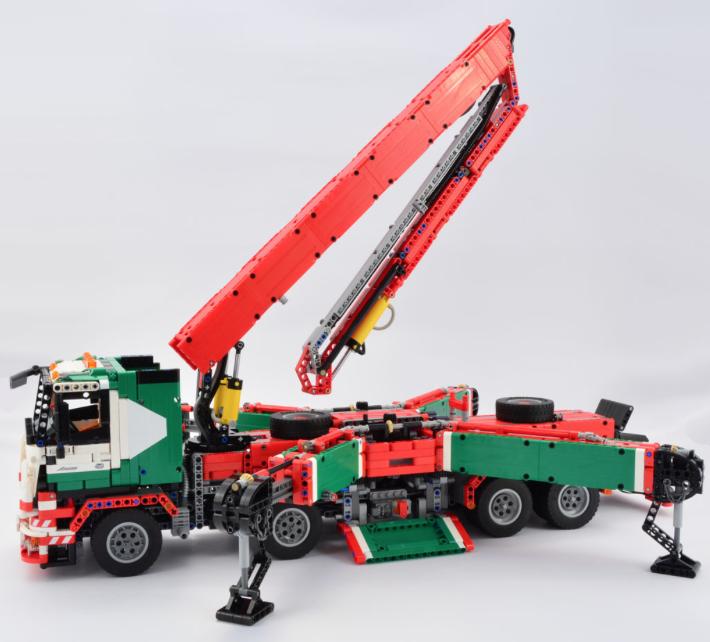 Lego Mercedes-Benz Remote Control Truck | Lego | Pinterest ...