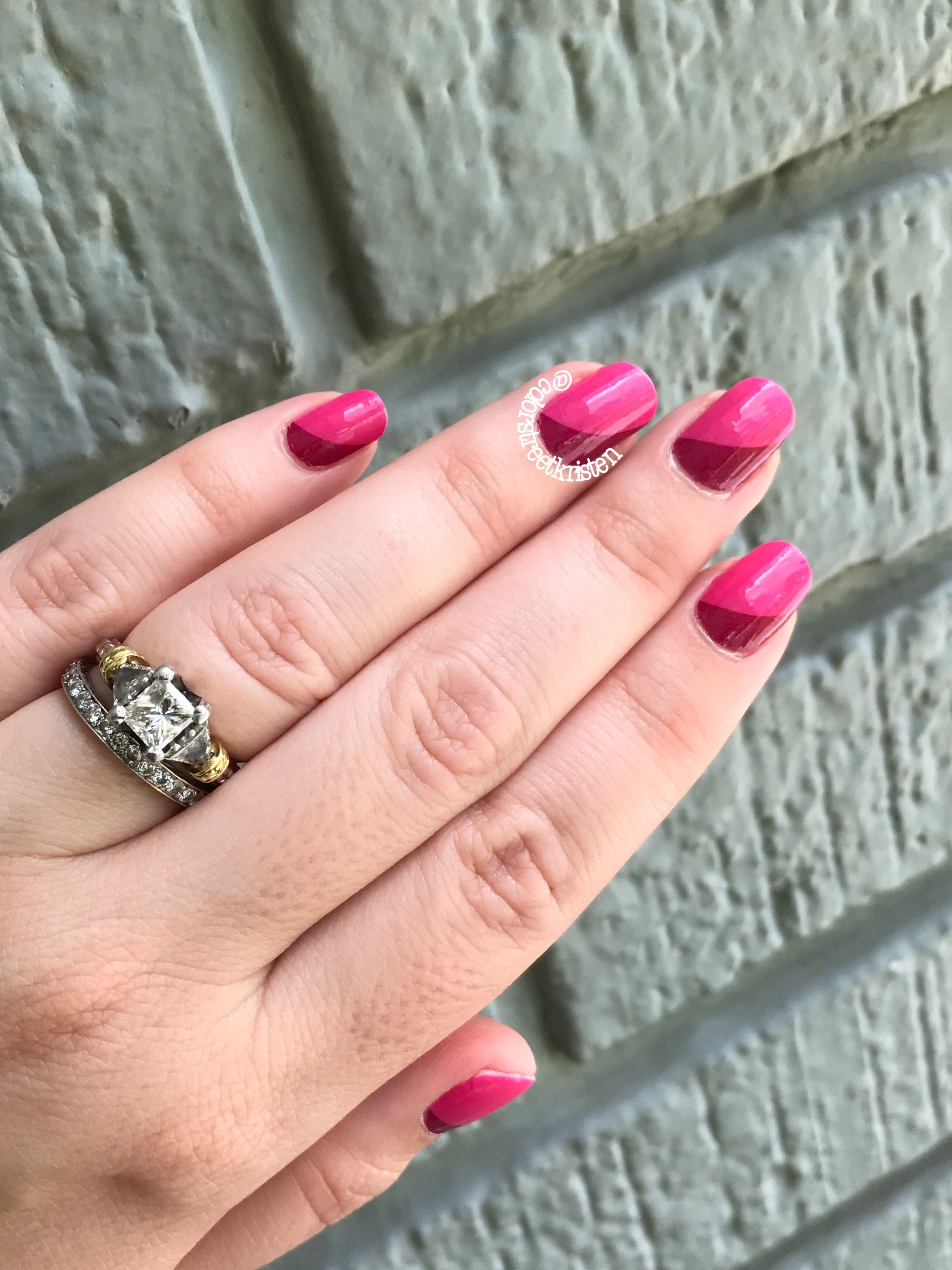 Love the two tone look of Park Slope Party! Color Street 100% nail ...